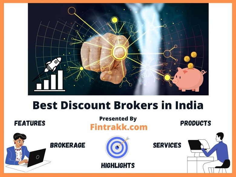 Best Discount Brokers in India, top 10 discount brokers, stock brokers India