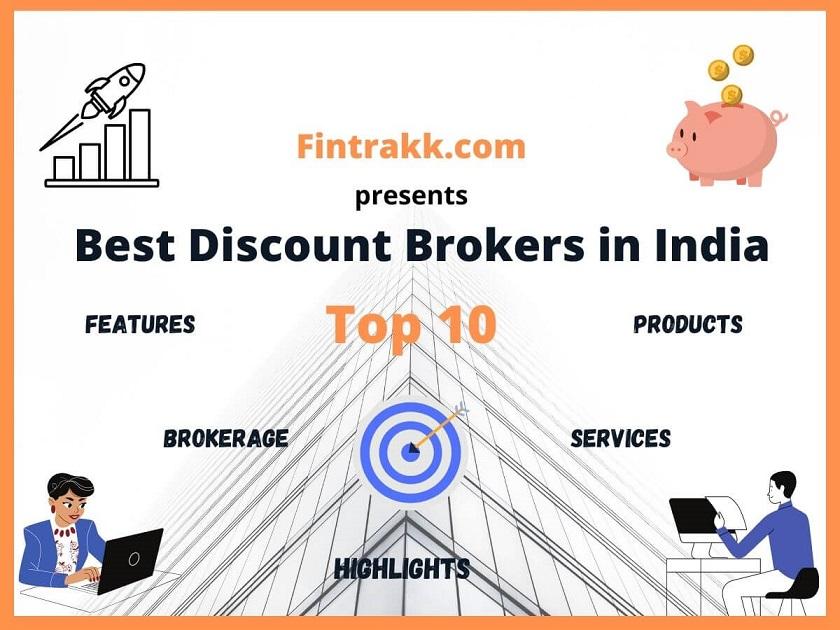 Top 10 Discount Brokers in India – Best Broker 2021