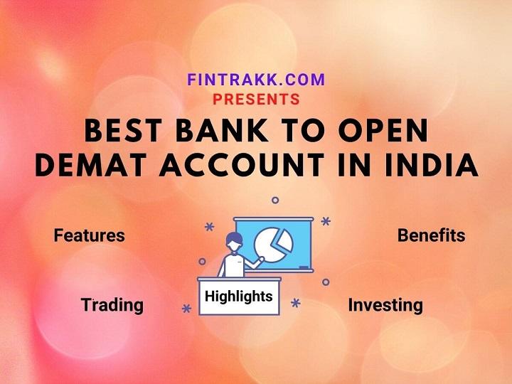 best bank for demat account in India, demat accounts