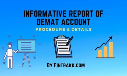 Informative Report of Demat Account – Procedure
