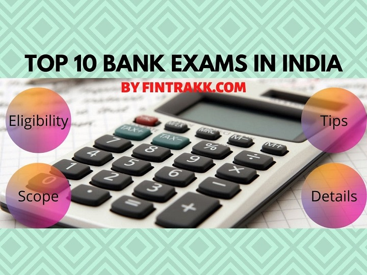 top bank exams in India, banking exams